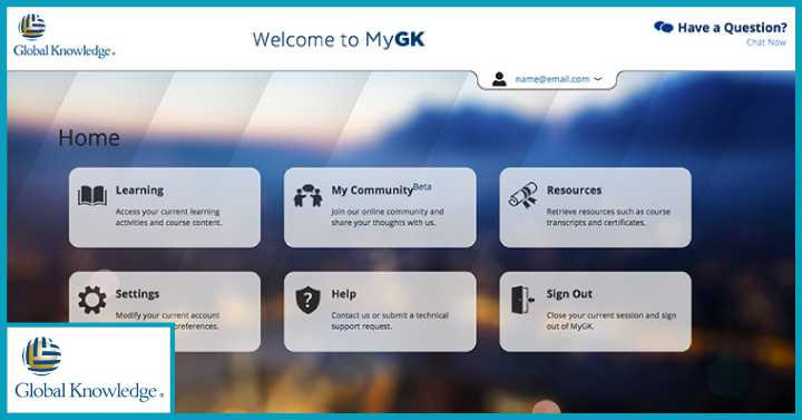 Globalknowledge remote management training course