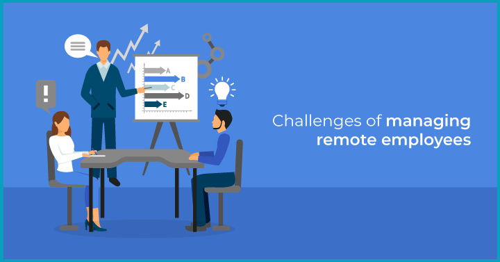 challenges of managing remote employees