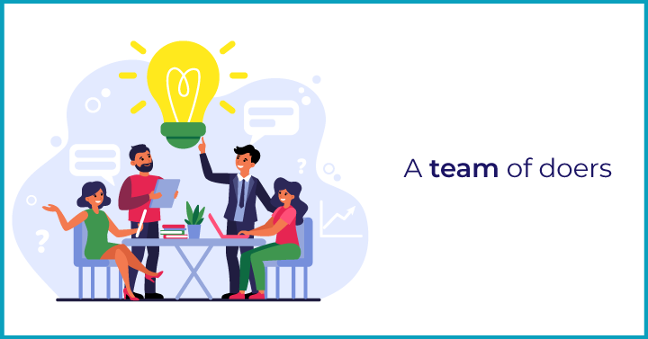 A team of doers