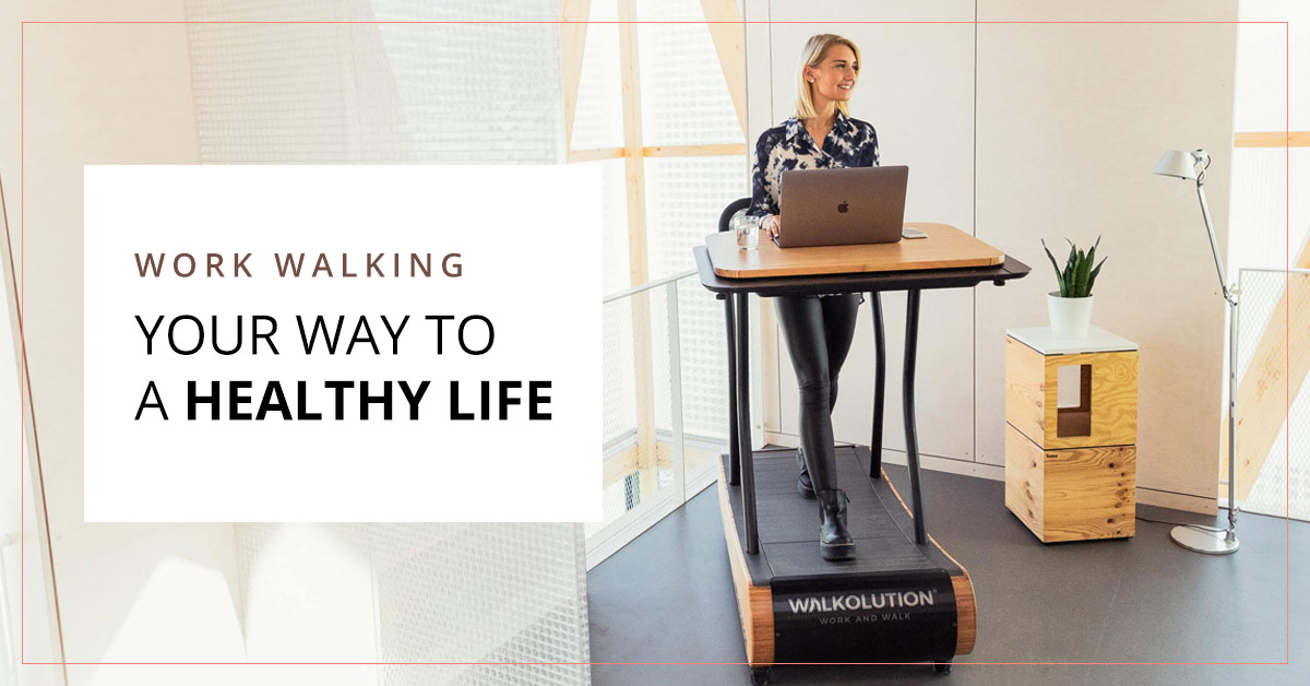 Walkolution- A Guilt-Free Workout And Work Lifestyle