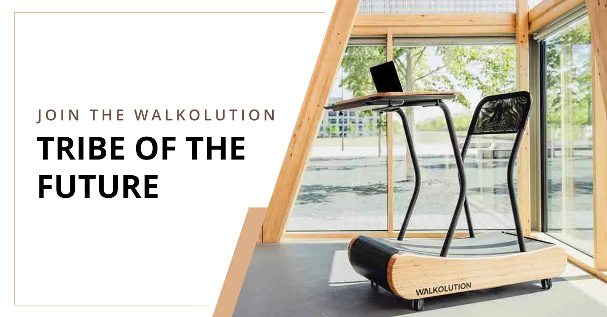 Walkolution- A Guilt-free Workout and Work Lifestyle!