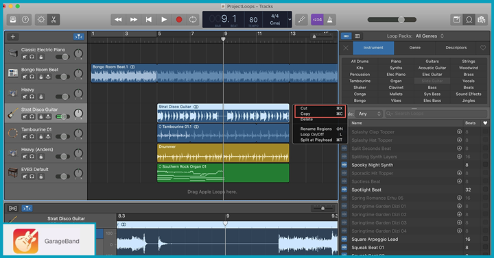 Garageband podcast recording software
