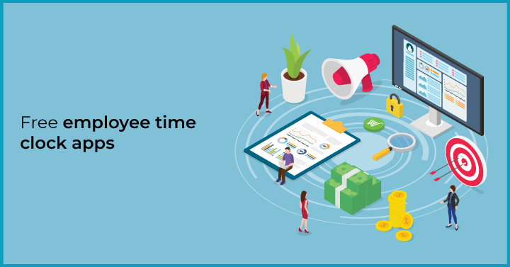 Free employee time clock apps