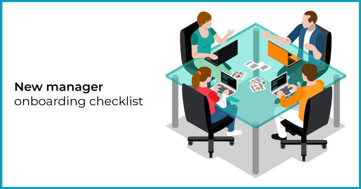 New manager onboarding checklist
