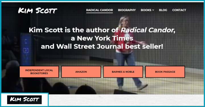 Radical Candor,How to Get What You Want by Saying What You Mean, Kim Scott