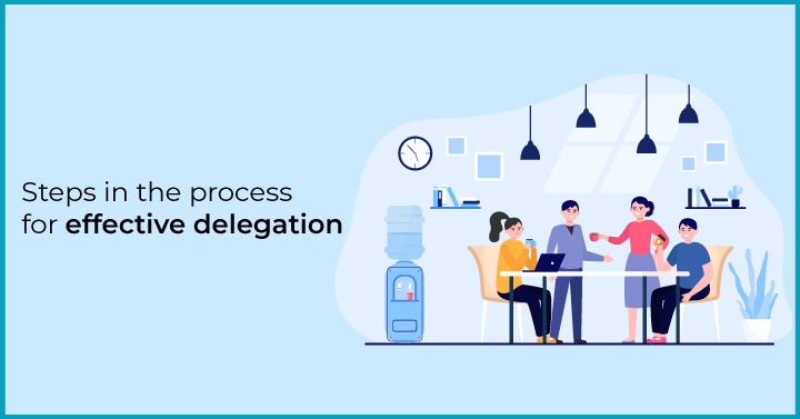 Steps in the process for effective delegation