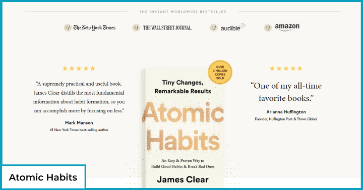 Atomic Habits, James Clear