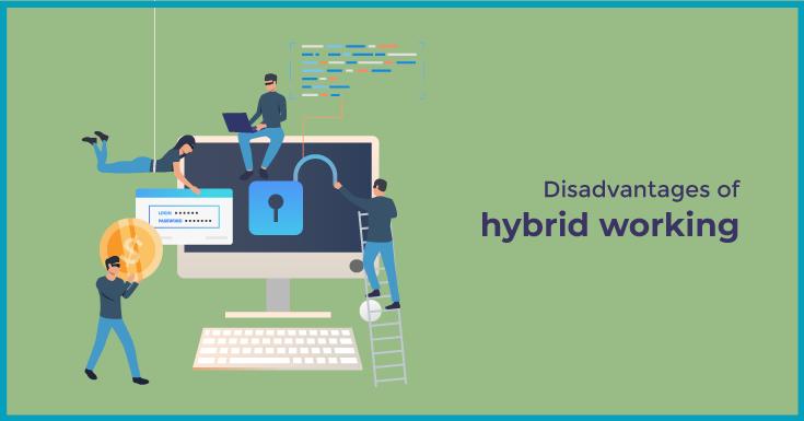 Disadvantages of hybrid working