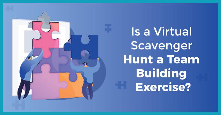 how do you make a virtual scavenger hunt?