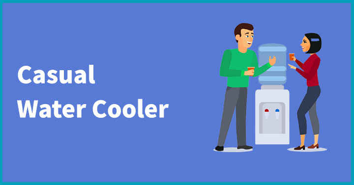 Casual water cooler
