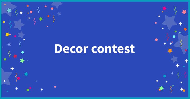 Decor contest