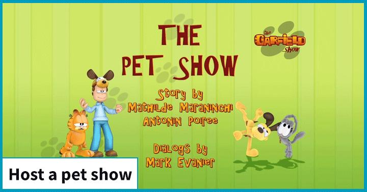 Host a Pet Show