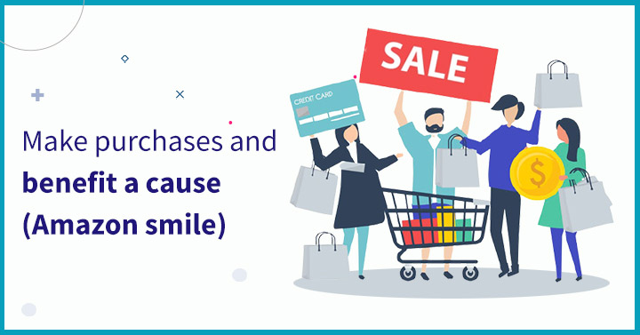 Make purchases and benefit a cause