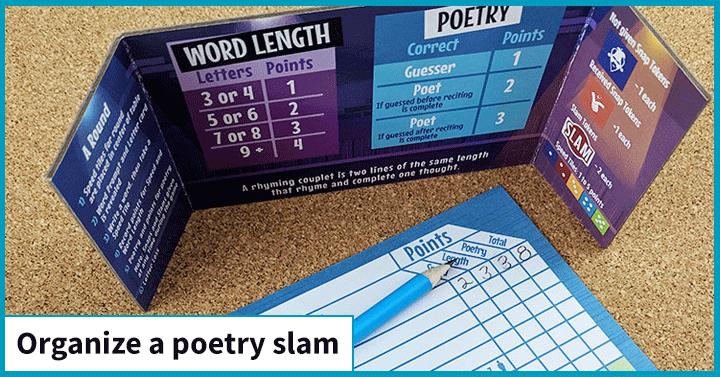 Organize a Poetry Slam