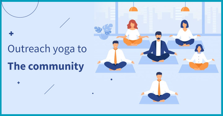 Outreach yoga to the community