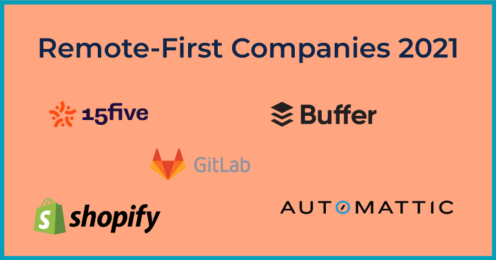 Remote-First Companies 2021