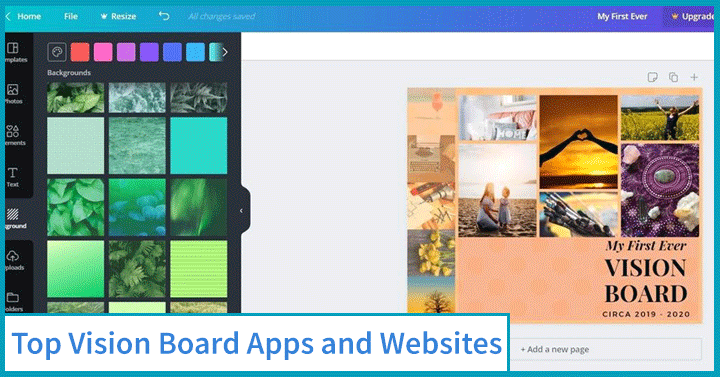 Top Vision Board Apps and Websites