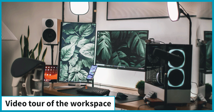 Video Tour of The Workspace