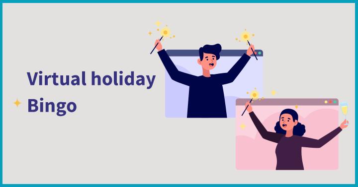 Virtual holiday bingo