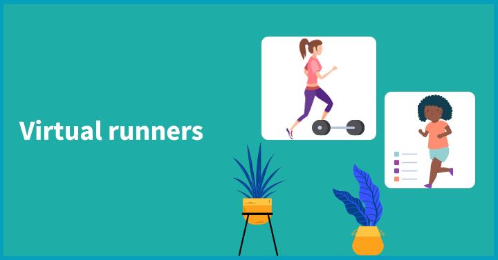 Virtual runners