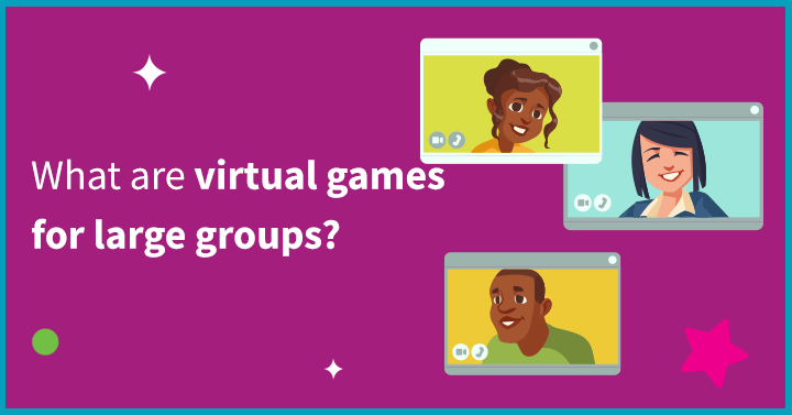 What are virtual games for large groups