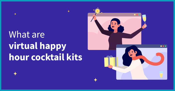 What are virtual happy hour cocktail kits