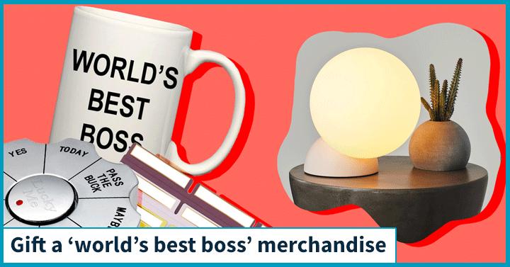 Gift a 'World's Best Boss' merchandise