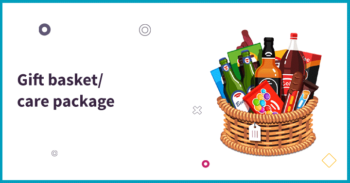 Gift basket/ care package