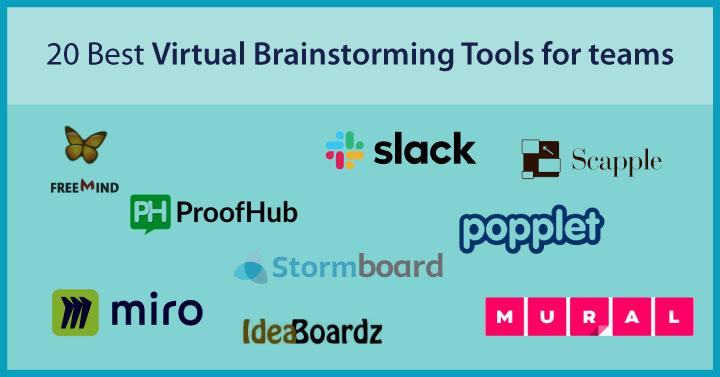 20 Best Virtual Brainstorming Tools for teams
