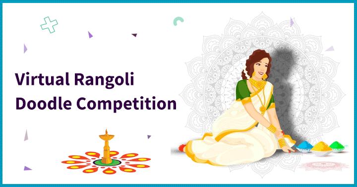 Virtual Rangoli Doodle Competition