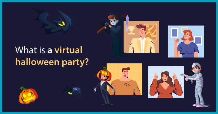What is a Virtual Halloween Party