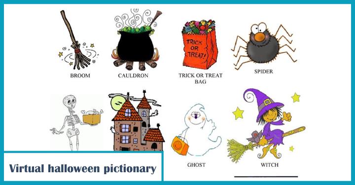 Virtual Halloween Pictionary