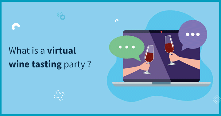 What is a virtual wine tasting party